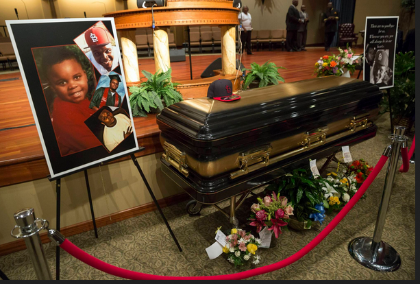 michael brown coffin